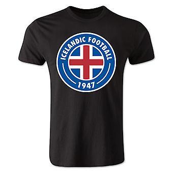 Iceland Core Logo T-Shirt (Black)
