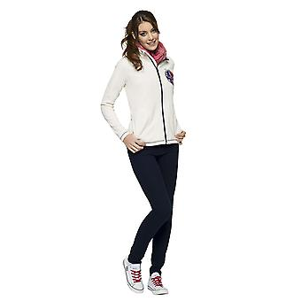 Nebulus-ladies fleece jacket GOTLAND gardenia