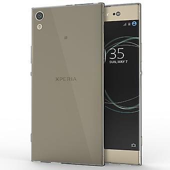 Sony Xperia XA1 Ultra (2017) slanke TPU Gel - gerookte Black