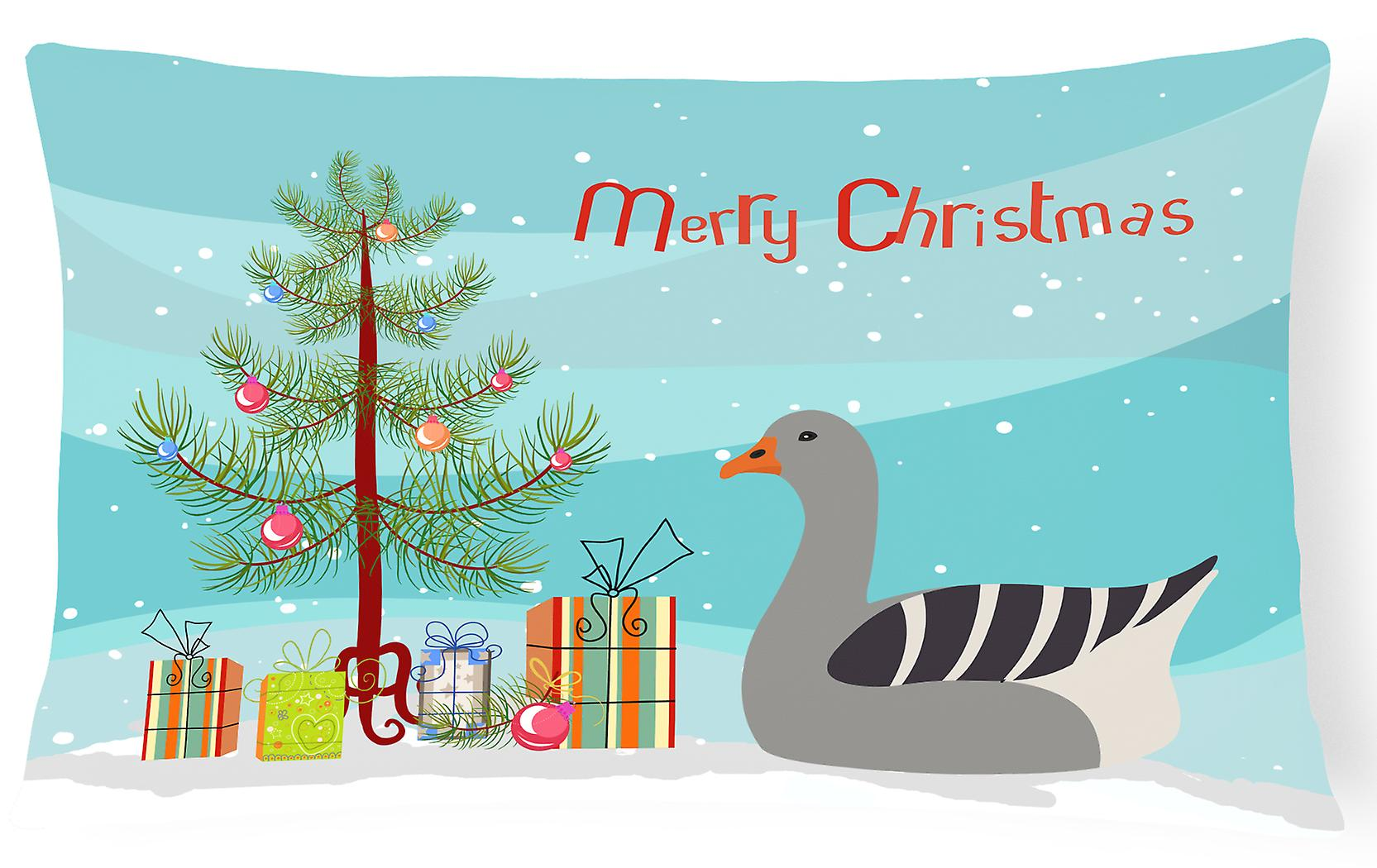 Christmas Canvas Pilgrim Fabric Goose Pillow Decorative 6yf7YmgvIb