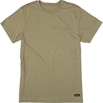 RVCA Vintage Dye Label Slim Fit Cotton Blend T-Shirt - Fatigue