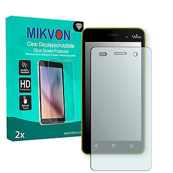 Wiko Lenny 3 Screen Protector - Mikvon Clear (Retail Package with accessories)