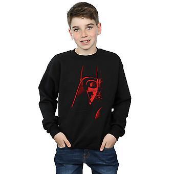 Star Wars Boys Vader Red Face Sweatshirt