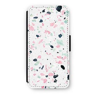 iPhone 7 Case Flip - Terrazzo N ° 3