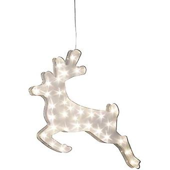 LED scenery Reindeer Warm white LED Konstsmide 2787-103 Transparent