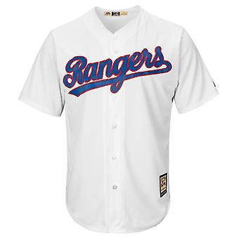 Majestic Cooperstown Cool Base Jersey - Texas Rangers