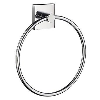 House Towel Ring - Polished Chrome RK344
