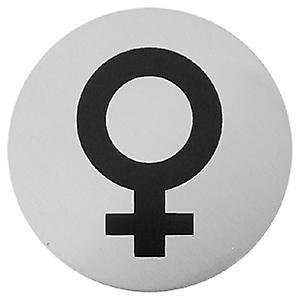 Simbolo femminile in acciaio urbano 7013