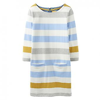 Joules Joules Jade Jersey Woven Mix Womens Tunic (Z)