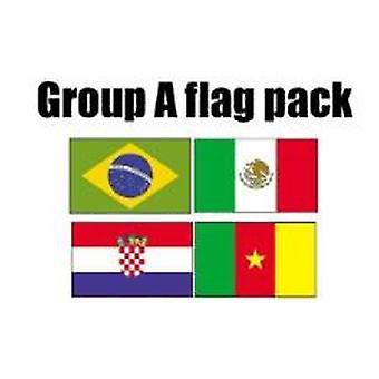 GRUPPO una calcio World Cup 2014 bandiera confezione (5 ft x 3 ft)