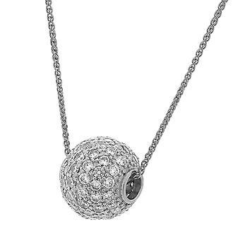 Orphelia Silver 925 Pendant Ball Zirc  ZH-7235