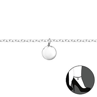 Circle - 925 Sterling Silver Anklets - W36043x