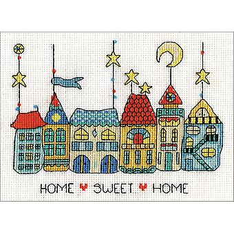 Home Sweet Home Counted Cross Stitch Kit-5