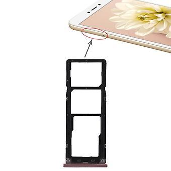 Für Xiaomi Redmi Note 5A Karten Halter Sim Tray Schlitten Holder Ersatzteil Pink