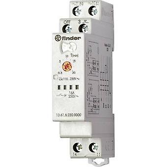 Finder 13.61.8.230.0000 TDR Monofunctional 230 V AC 1 pc(s) ATT.FX.TIME-RANGE: 30 s - 20 min 1 maker