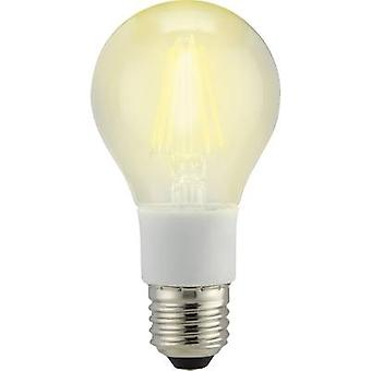 Sygonix LED E27 Arbitrary 7 W = 60 W Warm white (Ø x L) 60 mm x 114 mm EEC: A++ Filament, dimmable 1 pc(s)