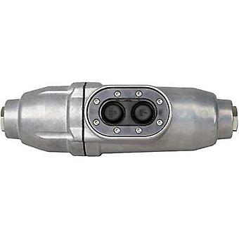 Kopp 1977.0101.2 In-line switch Aluminium + PRCD-S 230 V Aluminium IP66