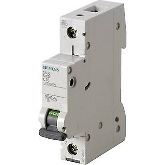 Siemens 5SL6116-6 Schutzschalter 1-polig 16 A 230 V, 400 V