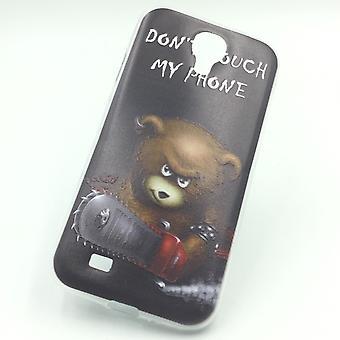 Mobiltelefon tilfældet for Samsung Galaxy S4 bærer ikke røre pose tilfældet + 1 x tank beskyttelse glas ny