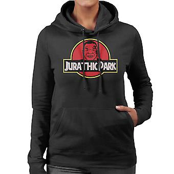 Mike Tyson Jurathic Park Women's Hooded Sweatshirt