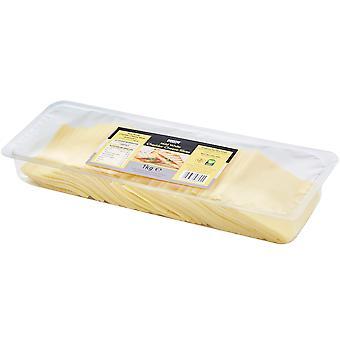 Land Auswahl milden Cheddar Käsescheiben