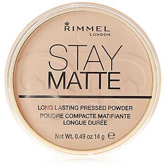 Rimmel Stay Matte painetaan jauhe 002 vaaleanpunainen kukka 14 g