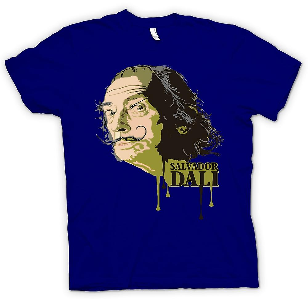 Mens T-shirt-Salvador Dali - Surreal - Künstler