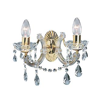 699-2 Marie Therese 2 Light Wall Light