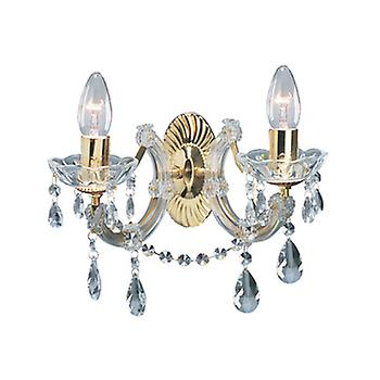 Searchlight 699-2 Marie Therese 2 Light Wall Light