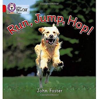 Run, Jump, Hop: Red A/Band 2A (Collins Big Cat Phonics)