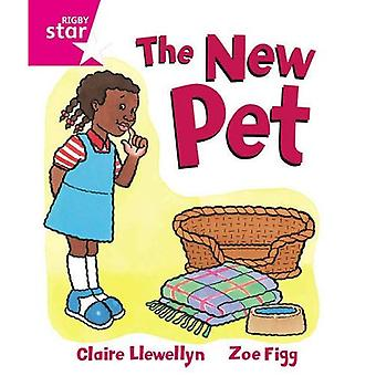 Rigby Star Guided Reception, Pink Level: The New Pet Pupil Book