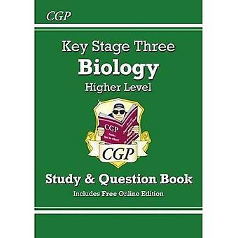 KS3 biología pregunta de estudio y libro (con edición en línea) - superior