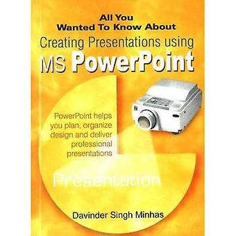 All You Wanted to Know About Creating Presentations Using MS PowerPoint (All You Wanted to Know About)