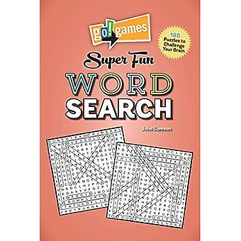 Go!games Super Fun Word Search: 188 Puzzles to Challenge Your Brain