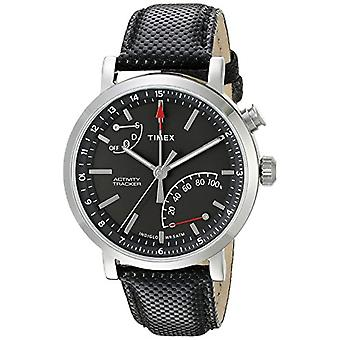 Timex men's Multi-dial quartz men watch with leather TW2P81700