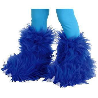 Monster-Boots Electric Blue