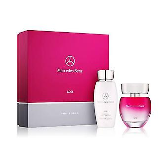 Mercedes-Benz Rose for Women Eau de Toilette Gift Set 60ml