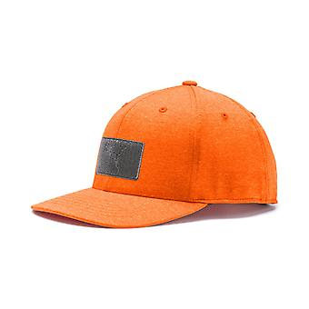 PUMA utility patch 110 Snapback mens Cap vibrant Orange