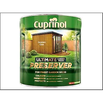 Cuprinol Ultimate Garden Wood Preserver Golden Oak 4 Litre