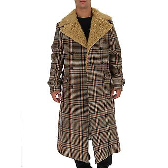غوتشي معطف الصوف متعدد الألوان