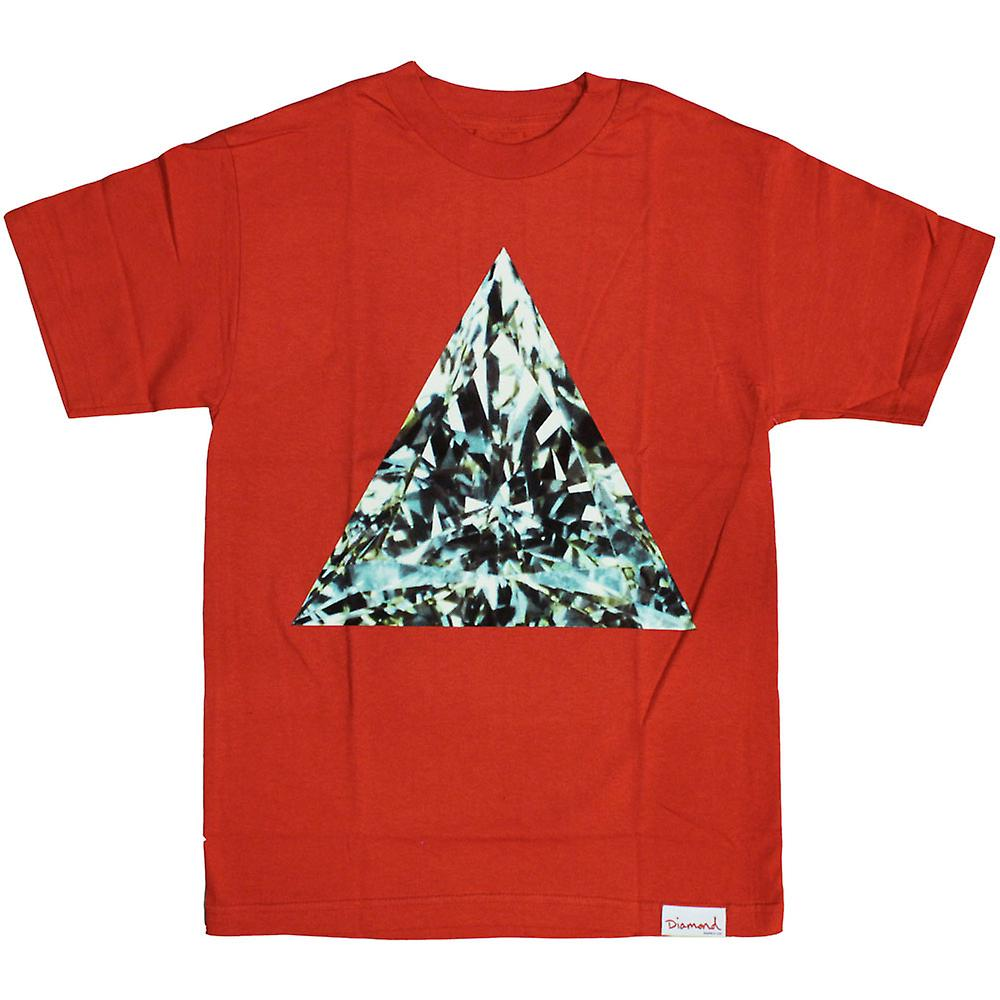Diamond Supply Co Trillian T-Shirt Rood