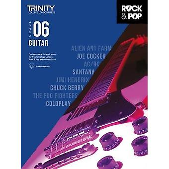 Trinity Rock & Pop 2018 Guitar Grade 6 - 9780857366535 Book