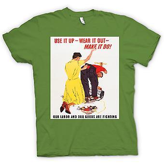 جعله القميص النسائي----الحرب ملصق