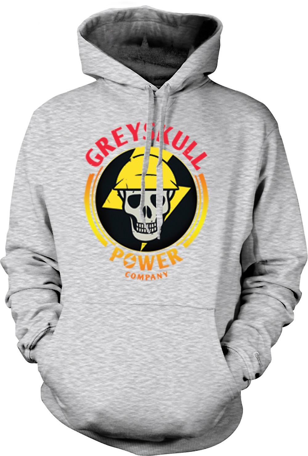 Mens Hoodie - Greyskull Power Company He-Man I have the Power