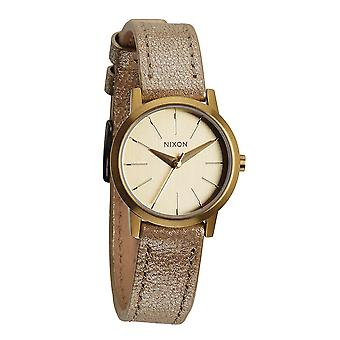 Nixon The Kenzi Leather Gold Shimmer (A3981877)