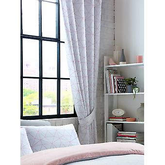Metro Prism Triangle Lined Curtains