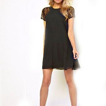 Nicki  Slim Dress - Black-XL