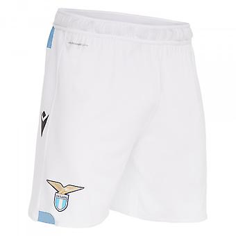 2019-2020 Lazio Macron Home Shorts (White) - Kids