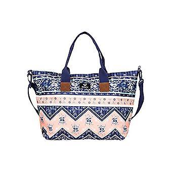 Roxy Good Things Purse/Handbag Donna Med Blue Newport Border SW One Size