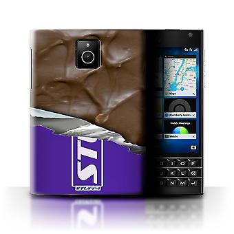 STUFF4 Case/Cover for Blackberry Passport/Wrapped Bar/Ripple/Chocolate